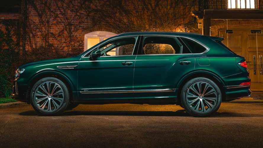 Bentley Bentayga Hybrid, one-off by Mulliner
