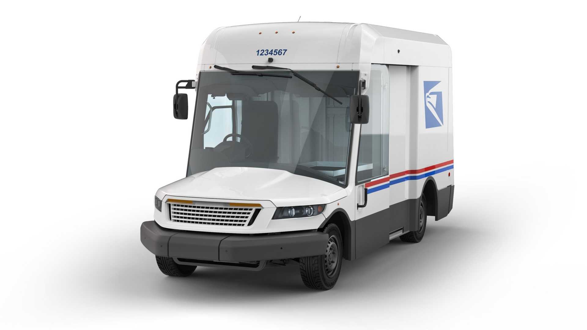 Oshkosh Defense US Postal Service Delivery Truck