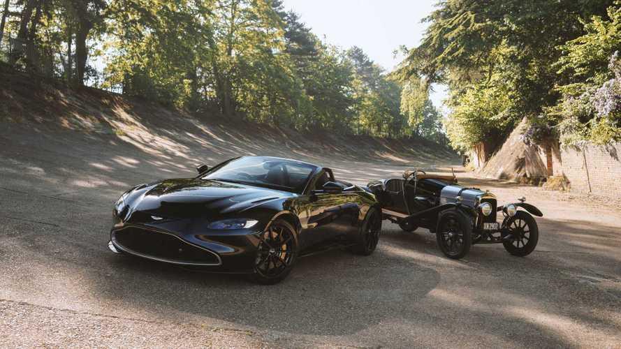 """Aston Martin Vantage A3, l'omaggio alla """"nonna"""" di tutte le Aston"""