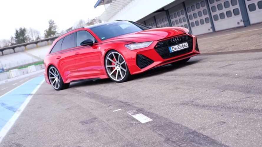 L'Audi RS 6 Avant de 1001 ch préparée par MTM se déchaîne sur circuit