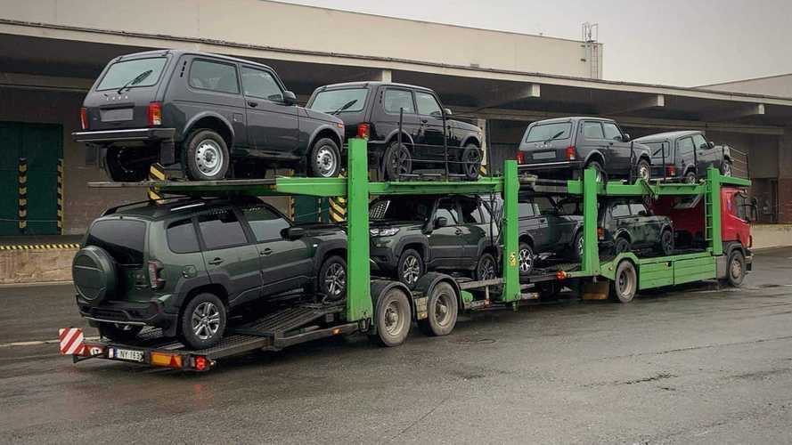 До Германии добрался автовоз с новыми «Нивами». Но АвтоВАЗ ни при чем