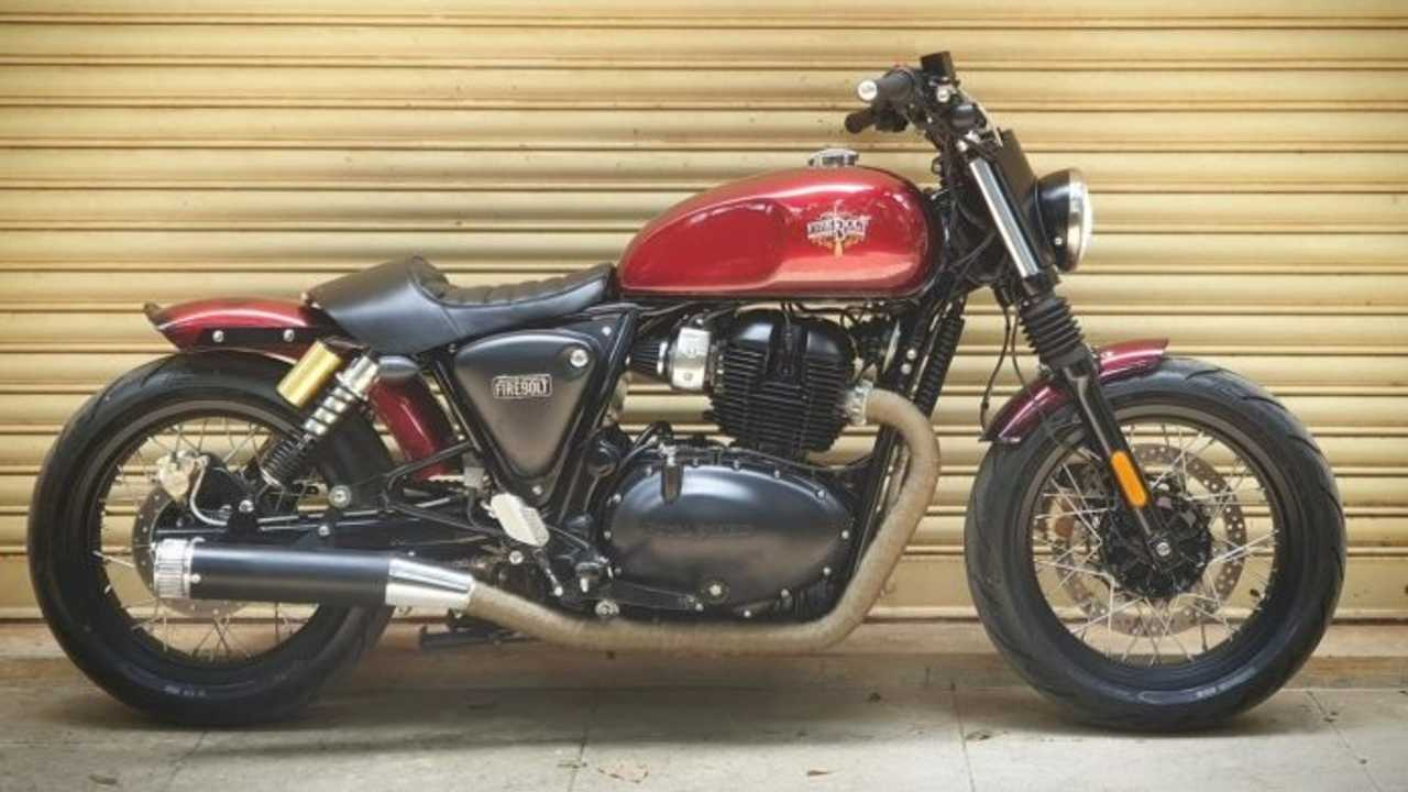 This Royal Enfield Interceptor Has Been Transformed Into A Gorgeous Bobber