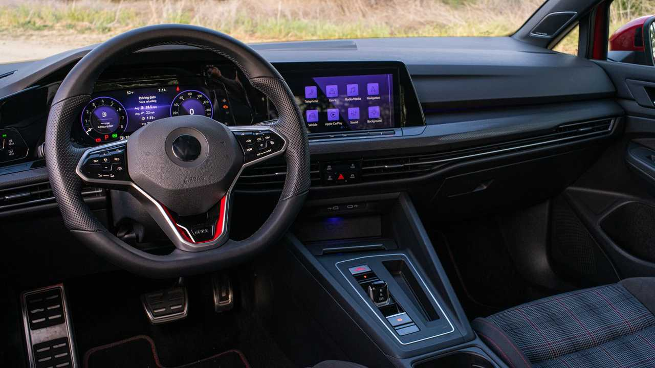 2021 Volkswagen GTI European-Spec Interior Dashboard