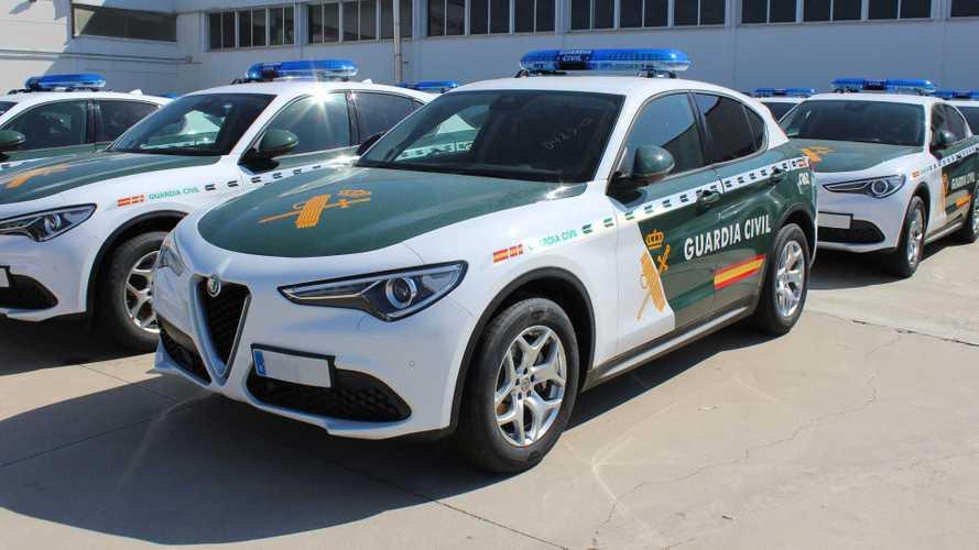 La Guardia Civil añade otros 62 Alfa Romeo Stelvio a su flota
