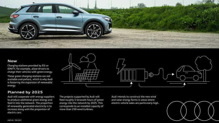 Audi shock: basta motori termici, produrrà energia da rinnovabili