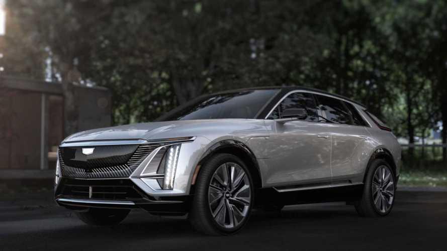 Серийный Cadillac Lyriq (2021)