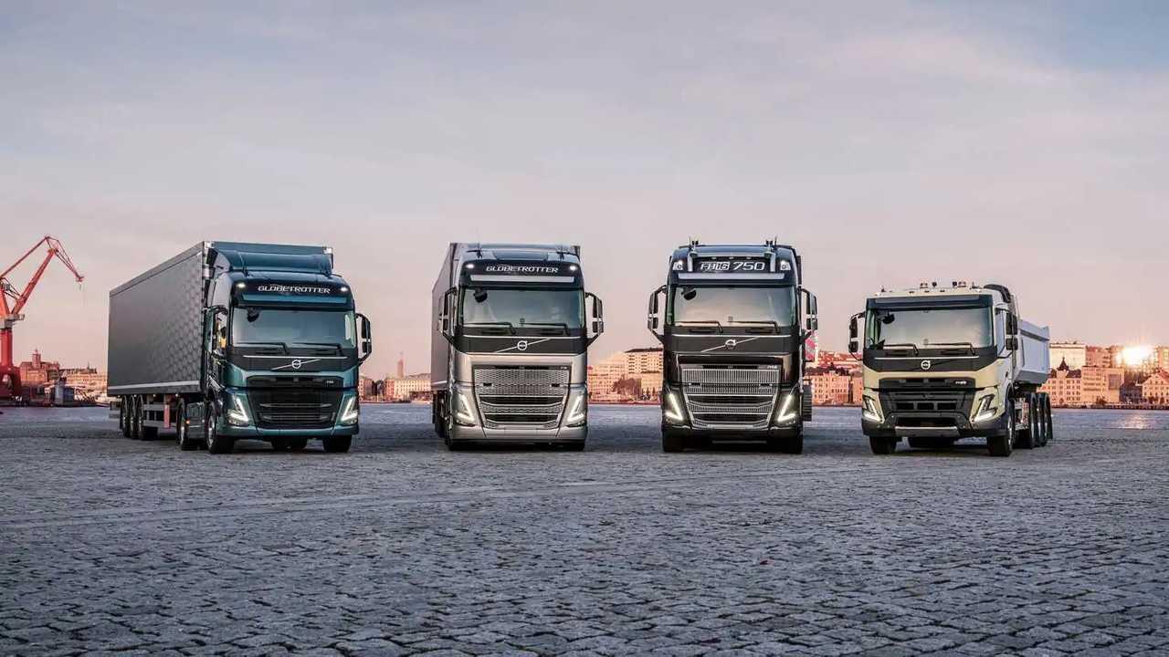 Volvo Trucks kamyonlar