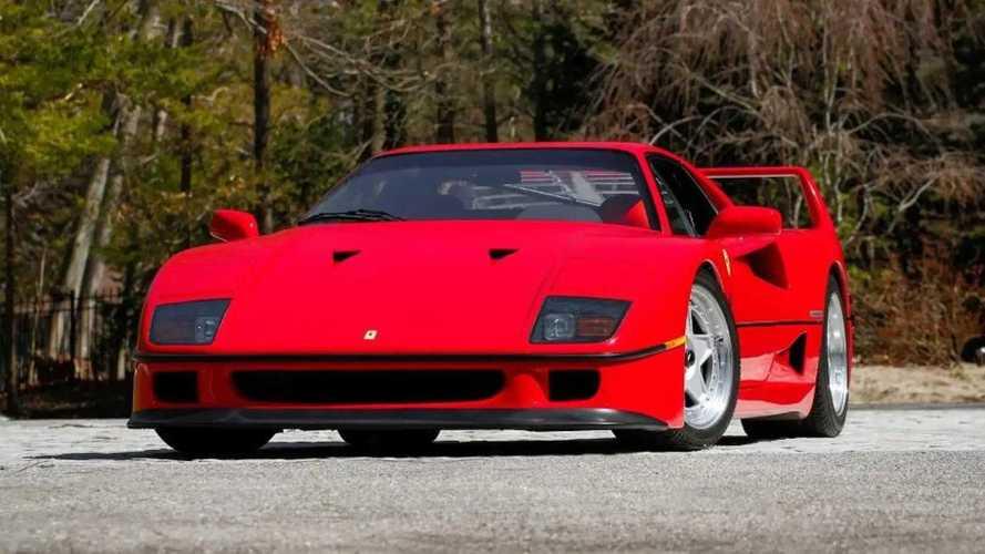 """Une Ferrari F40 certifiée """"Classiche"""" est à vendre !"""
