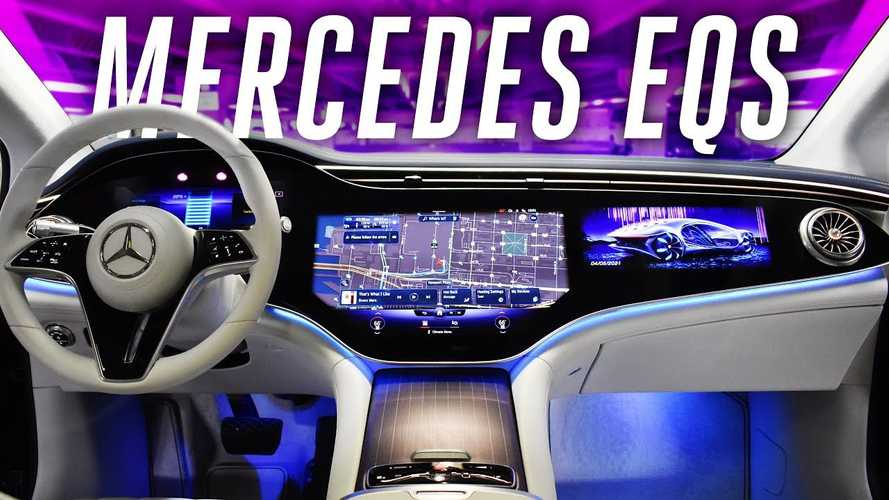 Watch These Mercedes-Benz EQS Ride And Drive Videos
