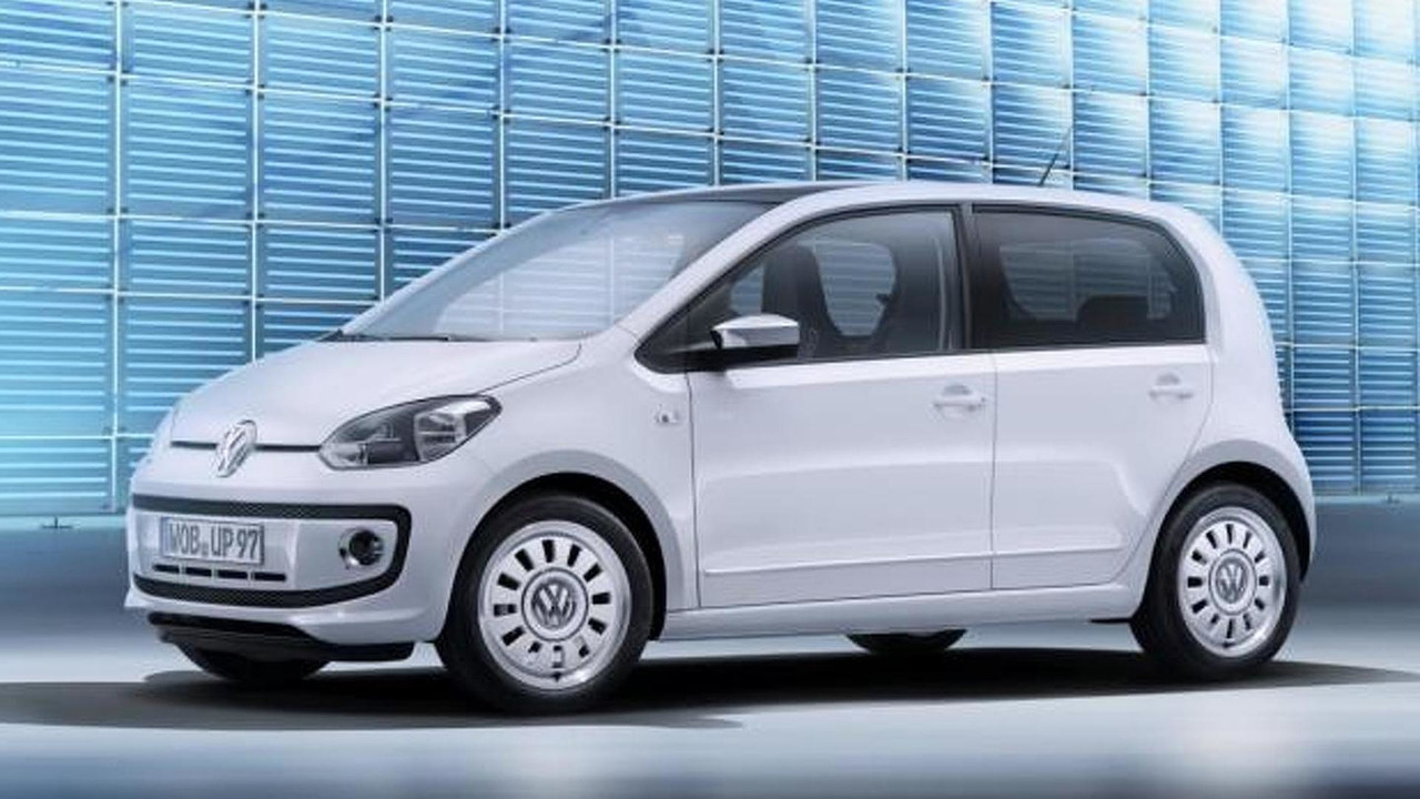 Volkswagen Up! five-door 23.01.2012