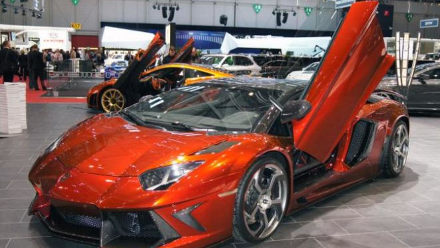 Mansory Lamborghini Aventador surprises in Geneva