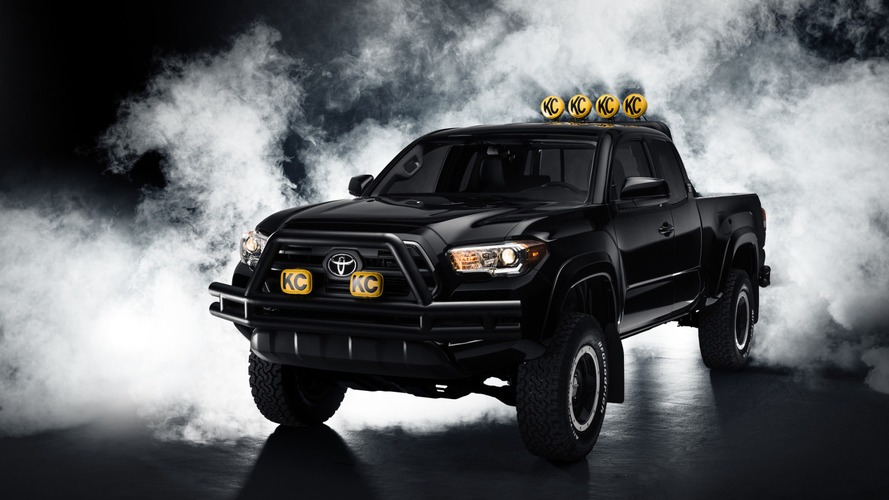 Toyota unveils their Back to the Future themed 2016 Tacoma