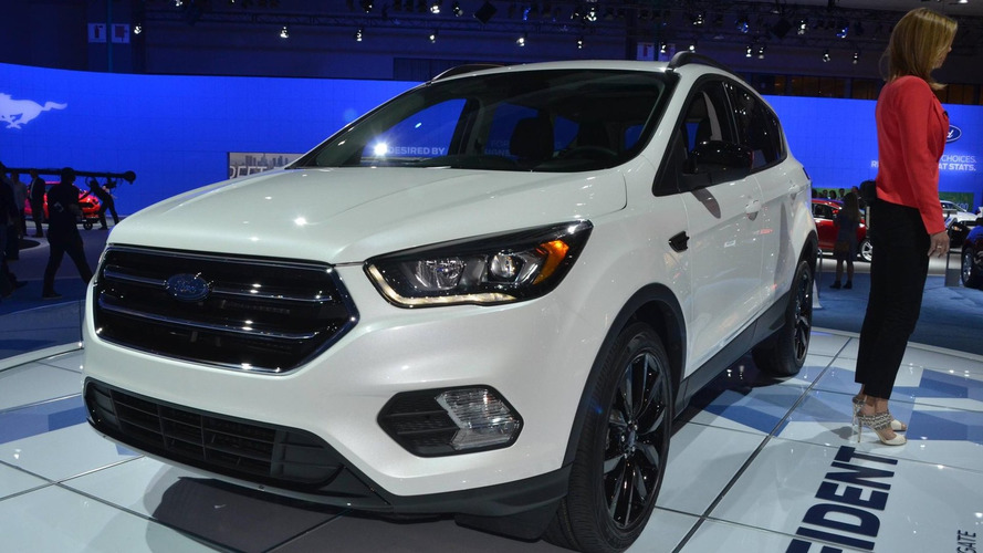 2017 Ford Escape unveiled with SYNC 3 and new safety tech