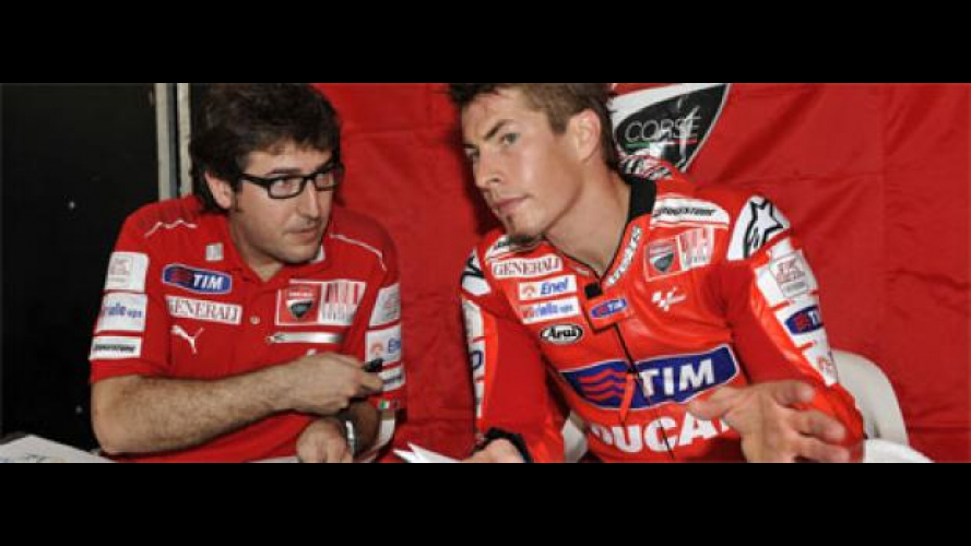 MotoGP 2010, Sepang, Test: team Ducati