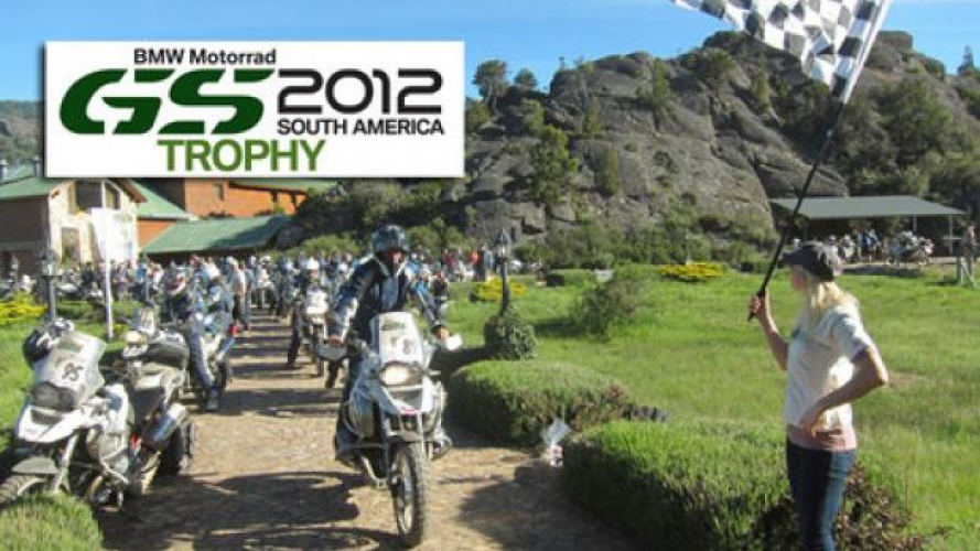 BMW GS Trophy 2012 - Francia in testa alla seconda tappa