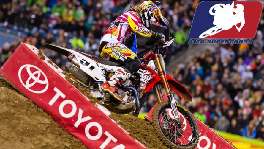 AMA Supercross 2013 Rd.15 - Seattle: Justin Barcia ora è a quota due vittorie