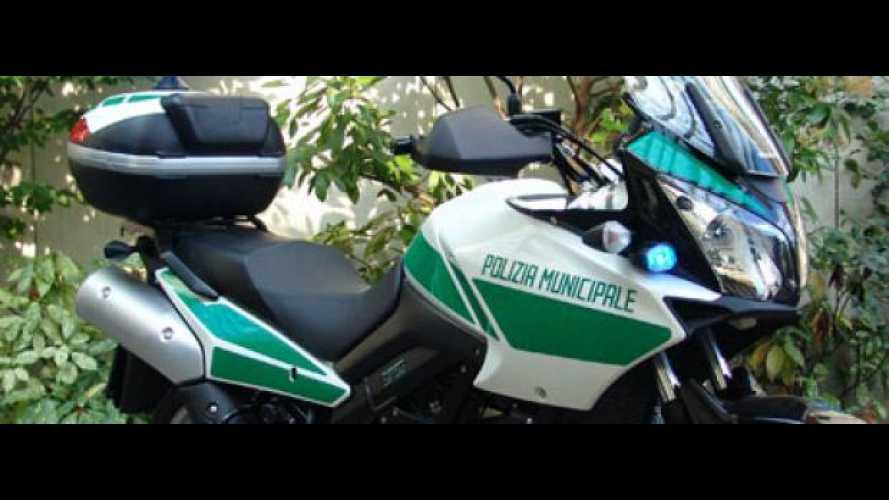 Suzuki V-Strom al 7° Congresso Nazionale Polizia Locale