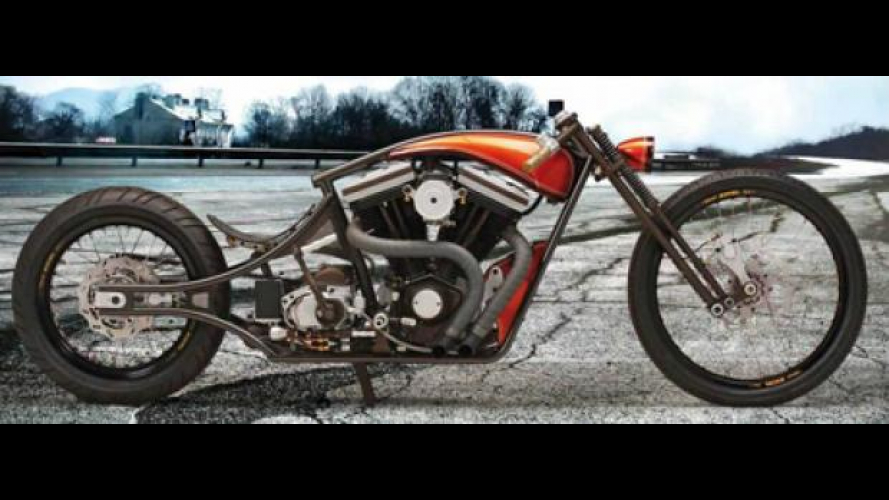 Motor Bike Expo 2012: dalla California, TPJ Custom