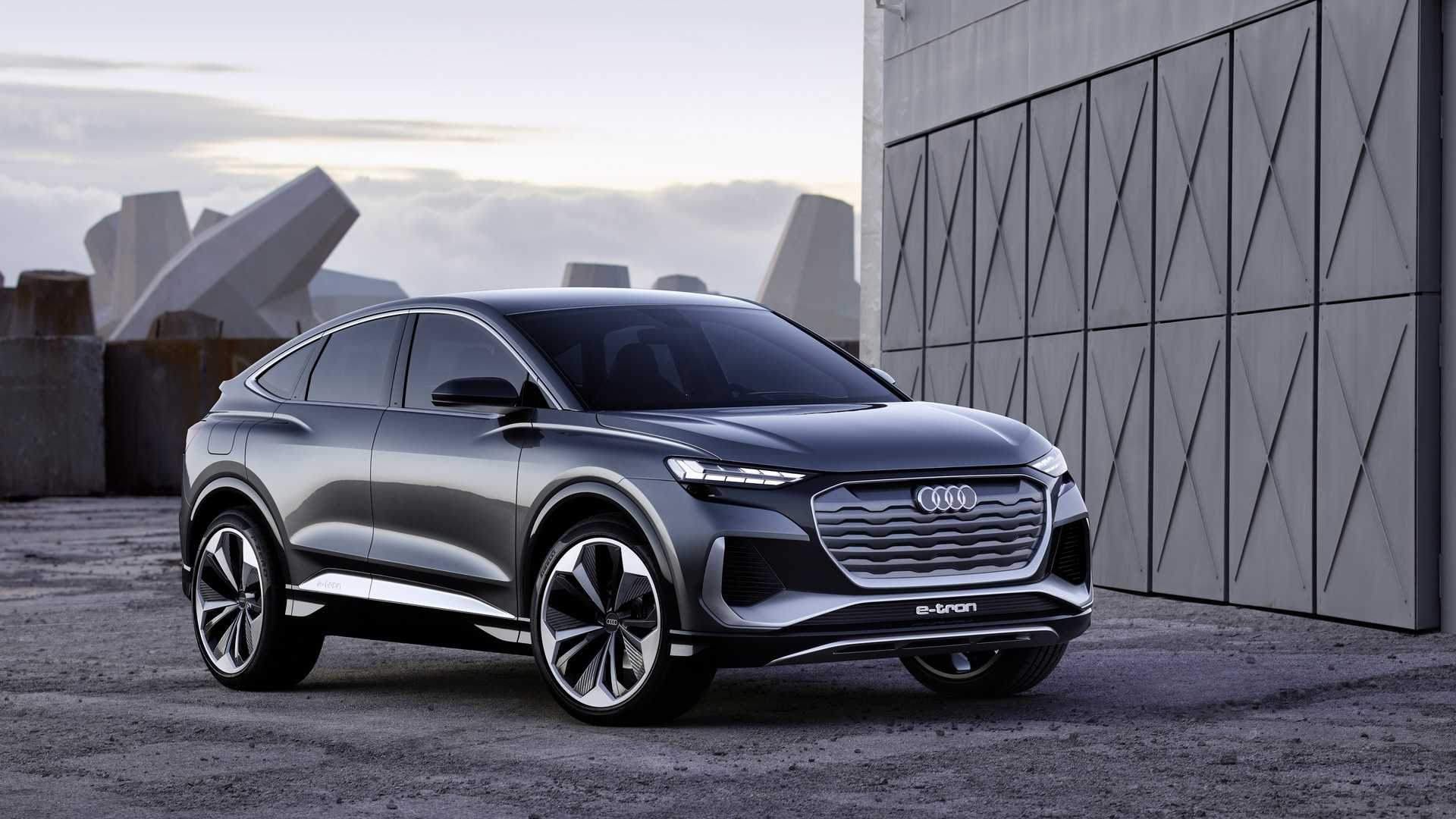 Audi Q4 Sportback E-Tron Concept Getts Coupe-Like Body To ...