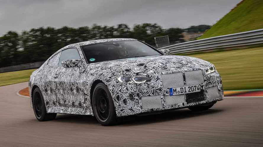 BMW M4 (2020) Predrive