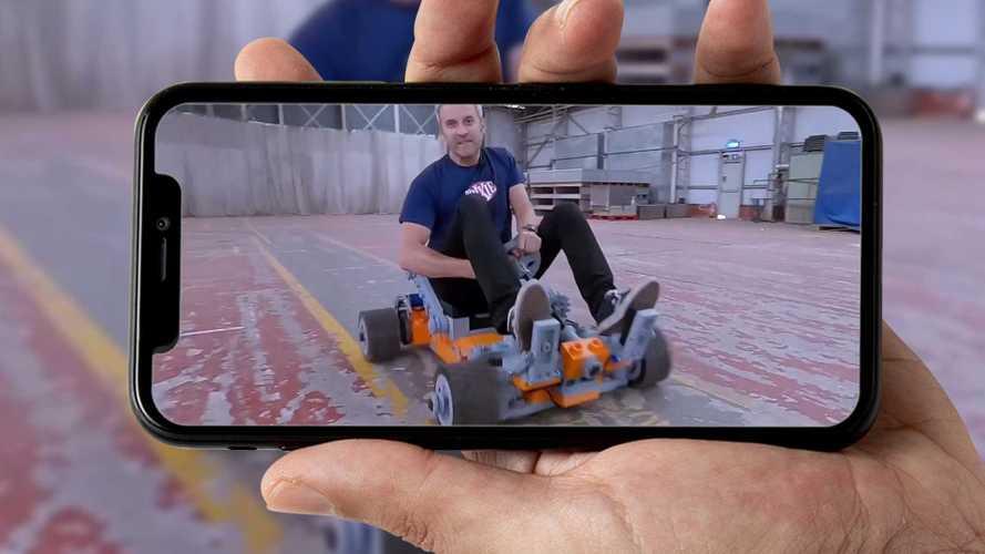Come si guida un kart in Lego in scala