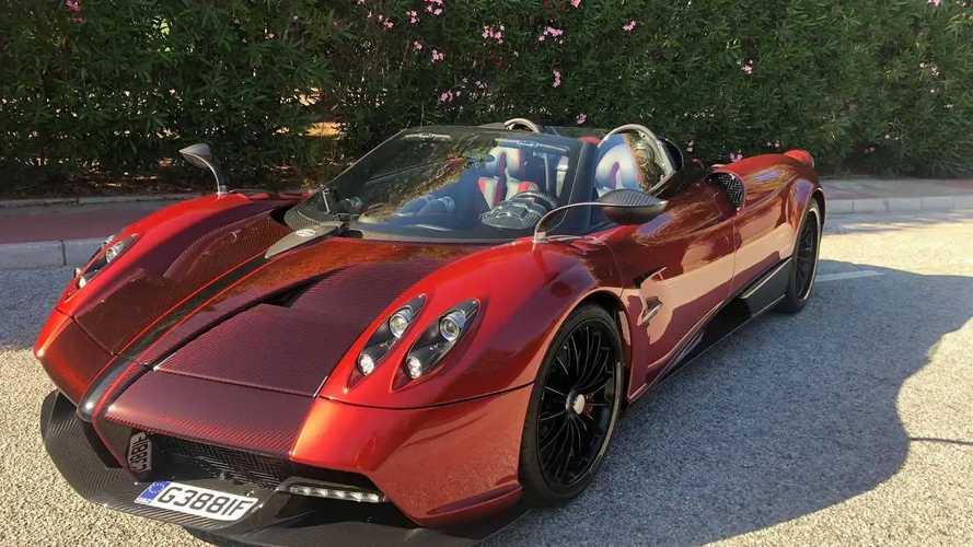 Újabb eladó Pagani Huayra Roadster