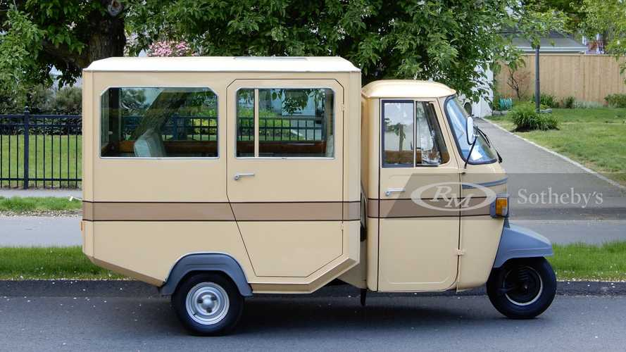 This Piaggio Ape Limousine Is Your Perfect Grocery-Getter
