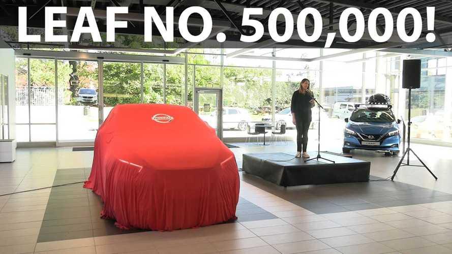 Nissan Delivered Its 500,000th LEAF: Let's Celebrate