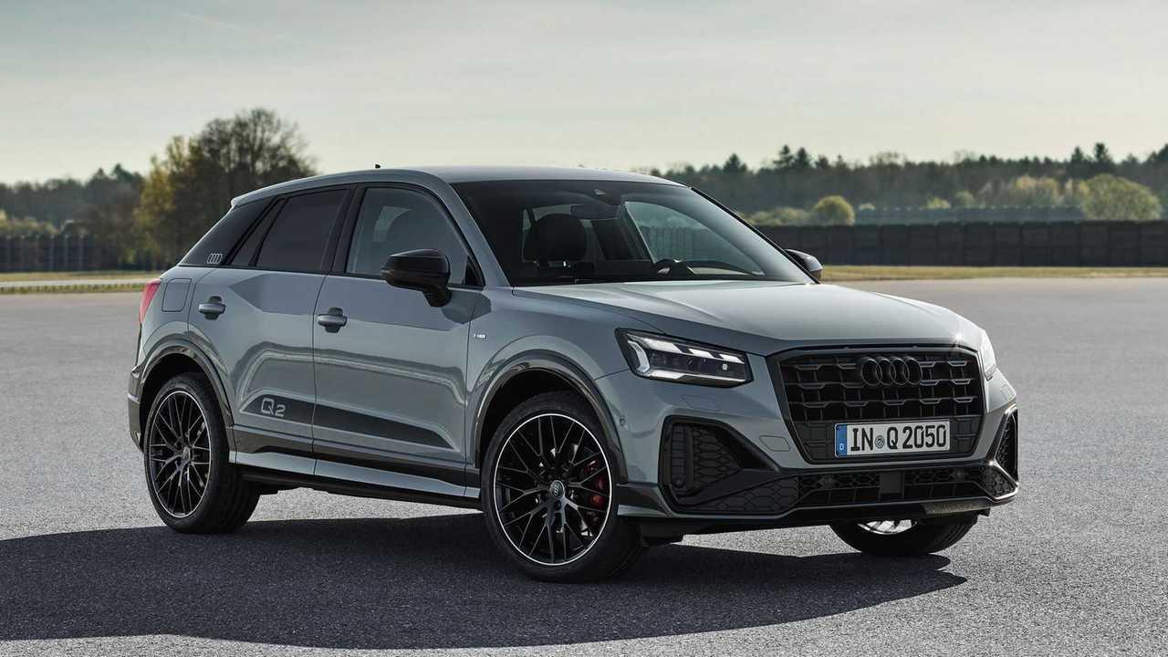 Audi Q2 (2020), вид спереди