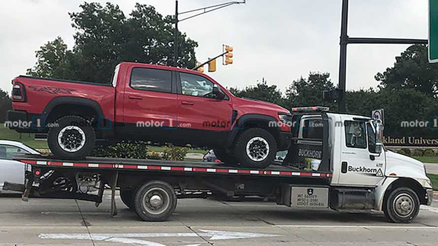 Ram TRX Prototype Dies While Testing, Needs Flatbed Assist