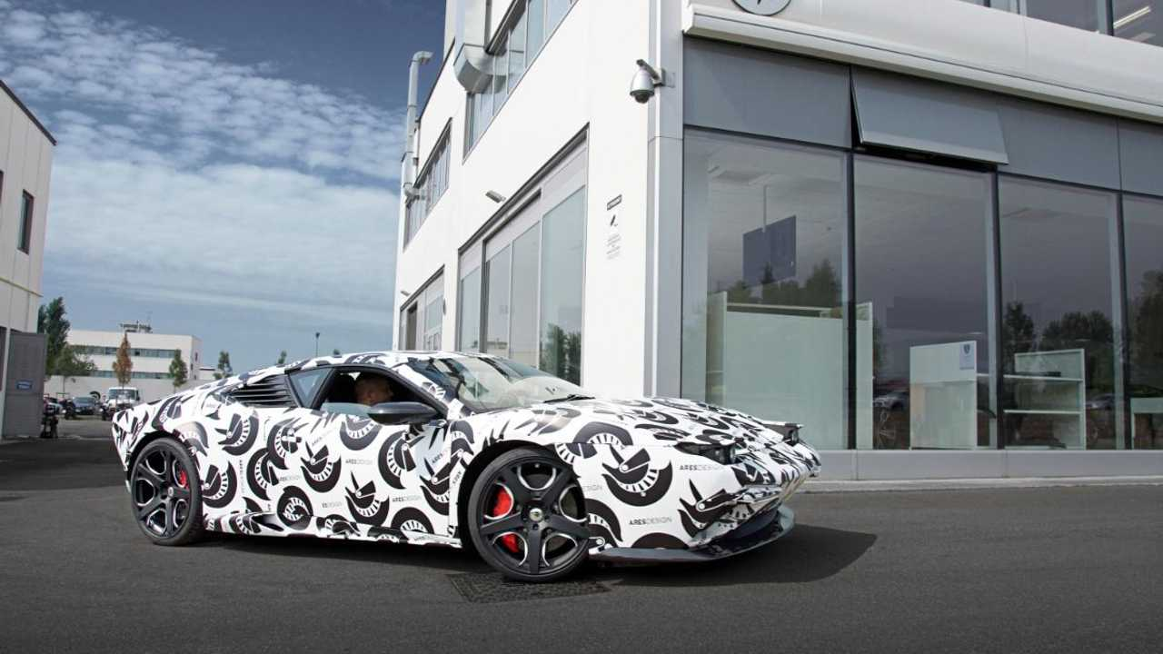 Video: Modern-day De Tomaso Pantera test car revealed