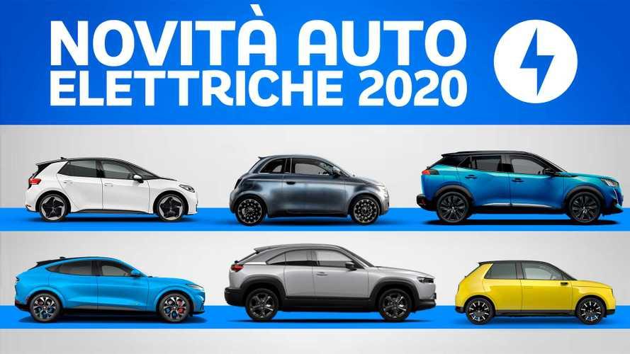 Auto elettriche 2020, tutte le novità in arrivo (pandemia permettendo)