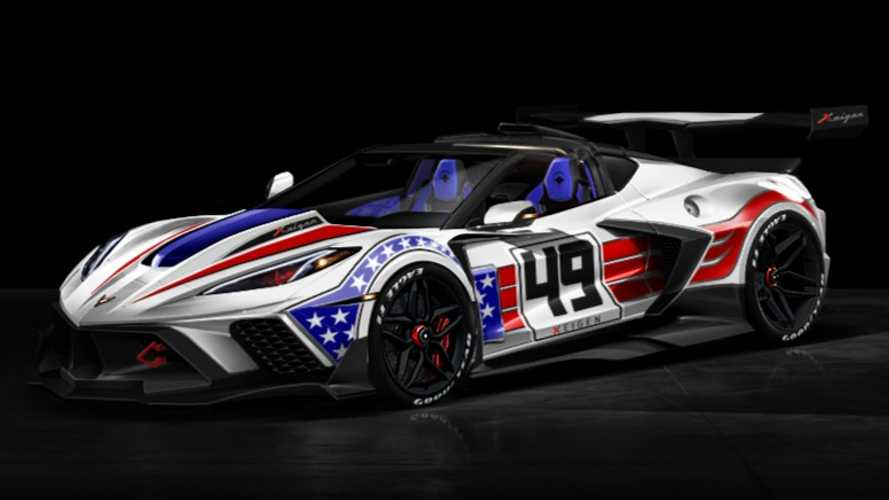 Tuner's Chevy Corvette C8 Daytona Rendered As Widebody Track Star