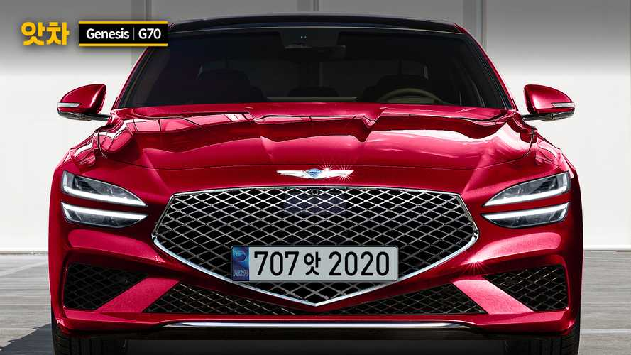 Genesis G70 Rendering Imagines Sedan With The G80's Face