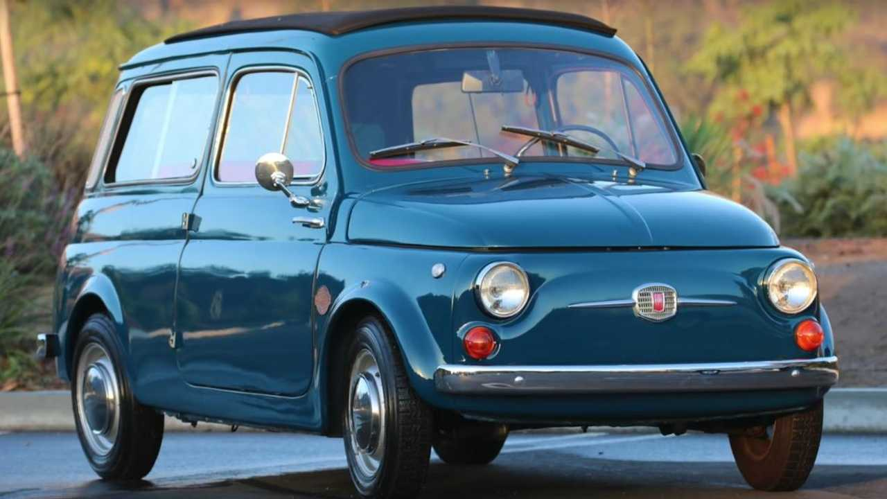 Electric Fiat 600 restomod sparks an interest