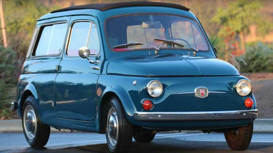 Electric Fiat 600 restomod sparks an interest