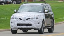 2021 Nissan Armada Spy Photos