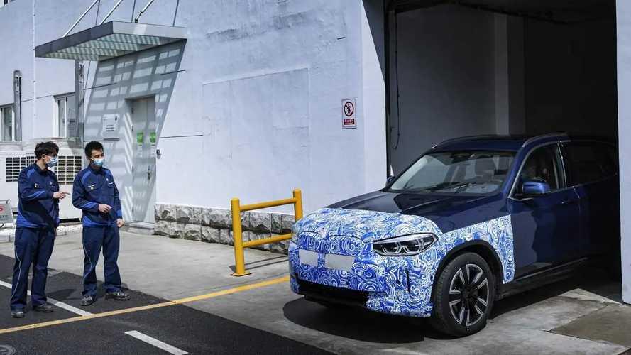 El BMW iX3 2020 se prepara para la producción