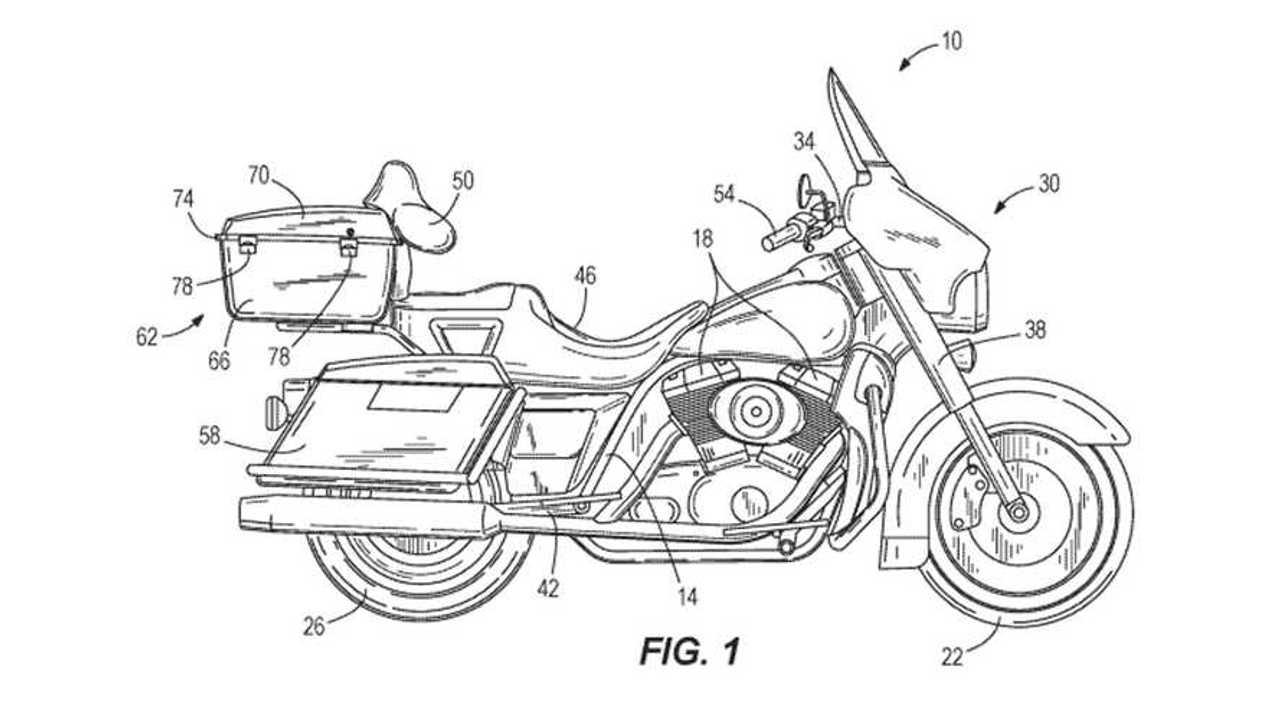 Harley-Davidson Self-Balancing System Patent
