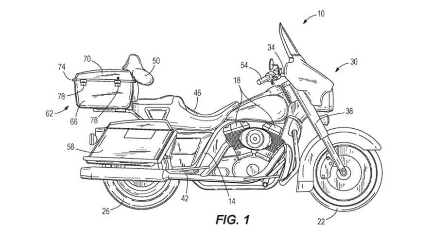 Harley-Davidson Is Working On A Self-Balancing Technology
