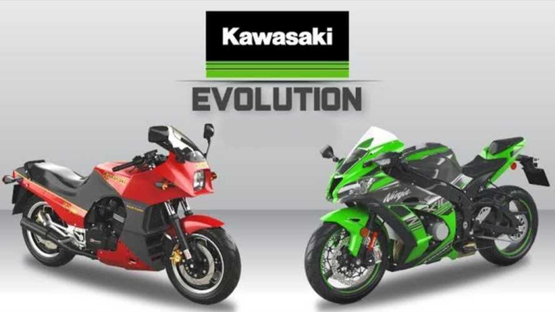 Kawasaki Ninja, l'evoluzione del bombardone verde dal 1984 ad oggi