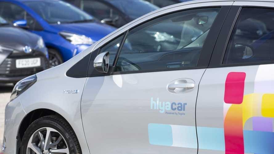 Toyota Yaris Hybrid joins Hiyacar's Bristol fleet