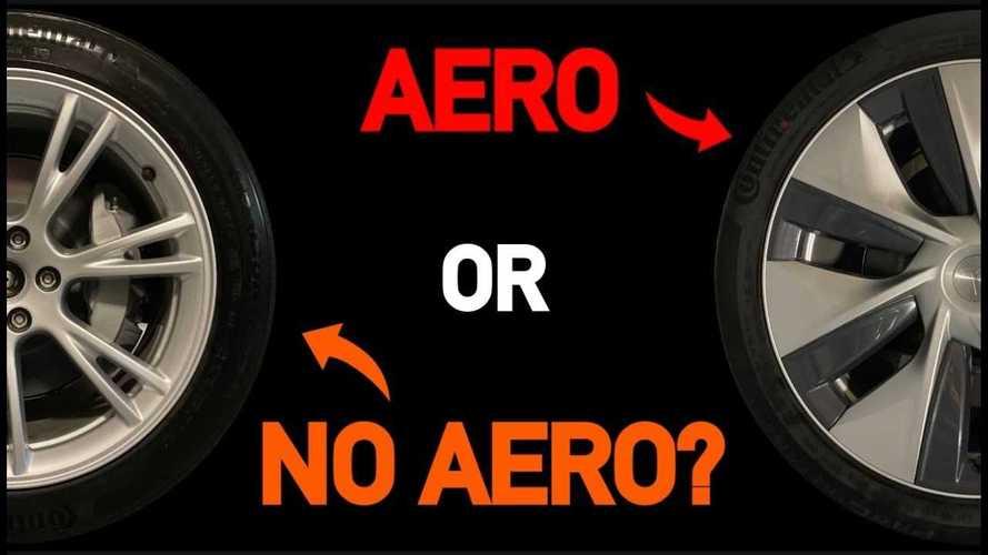 Tesla Model Y Range & Efficiency Test: Aero Wheel Covers On And Off