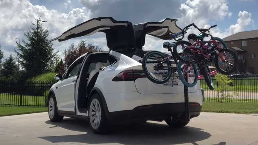 Tesla Model X: How Much Does A Bike Rack Decrease Range?