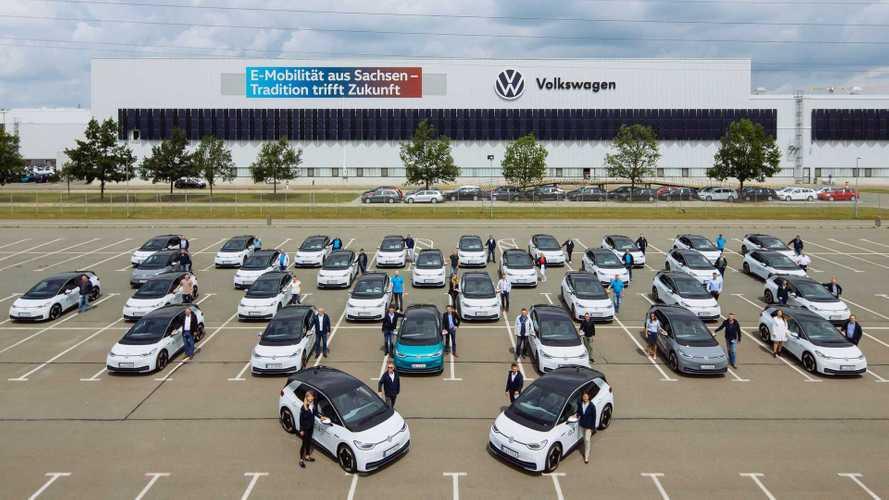Volkswagen ID.3, iniziano i test dei dipendenti