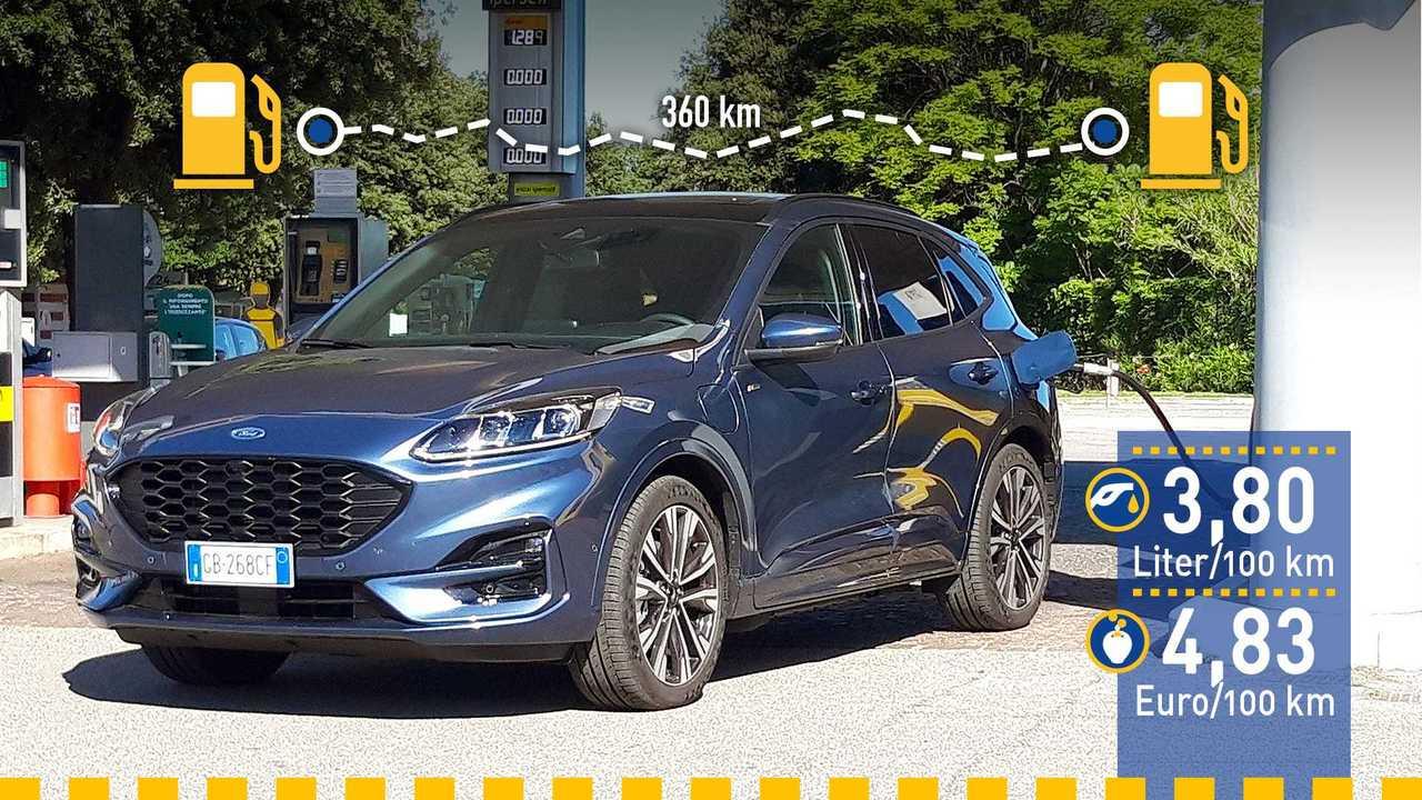 Ford Kuga PHEV (2020) im Verbrauchstest