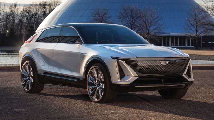 Cadillac LYRIQ Electric SUV Revealed: 300-Plus Miles Of Range, 33-Inch Screen