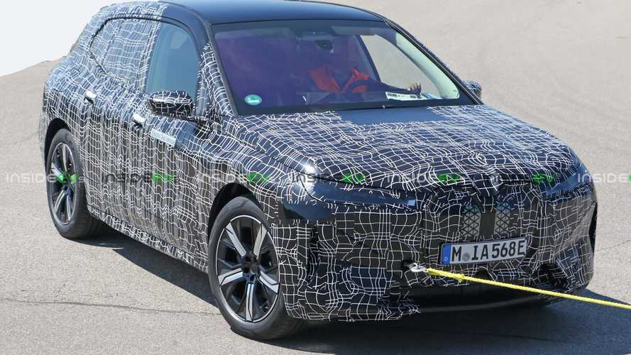2021 BMW iNext Electric SUV Drops Camouflage In Latest Spy Photos
