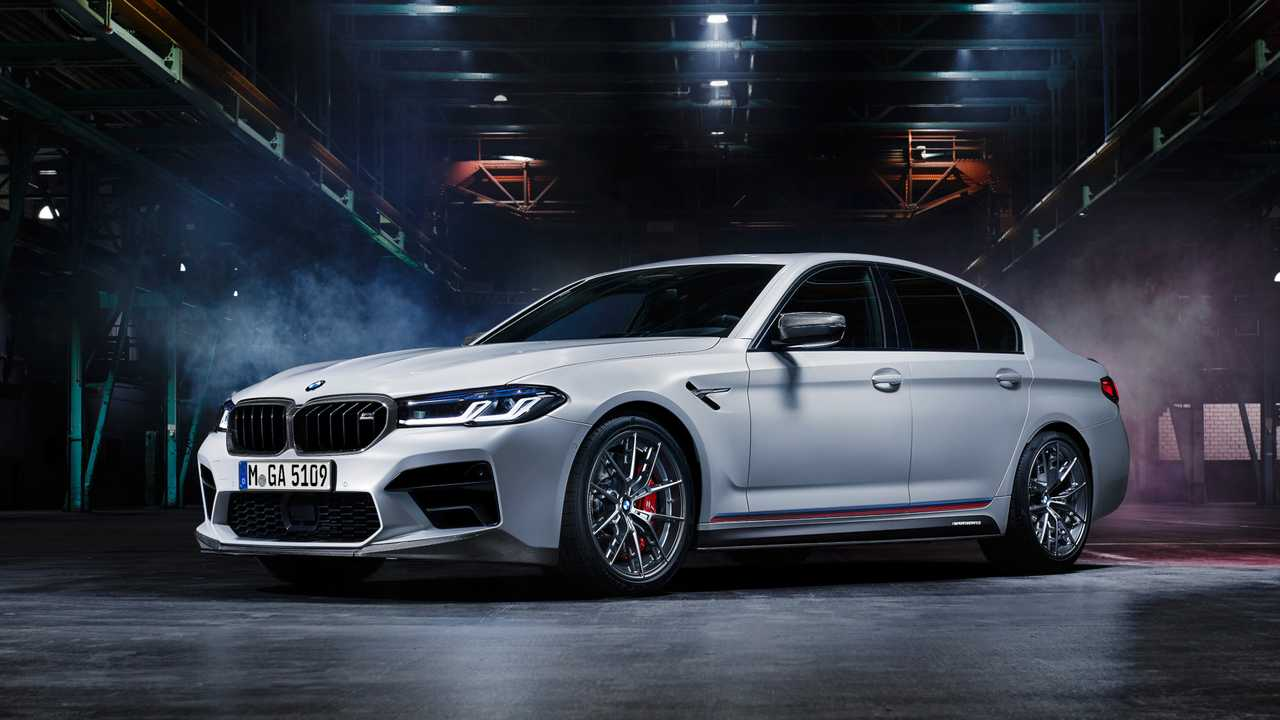 M Performance Parts für M5 Competition (2020): Der getunte M5 in Disco-Atmosphäre