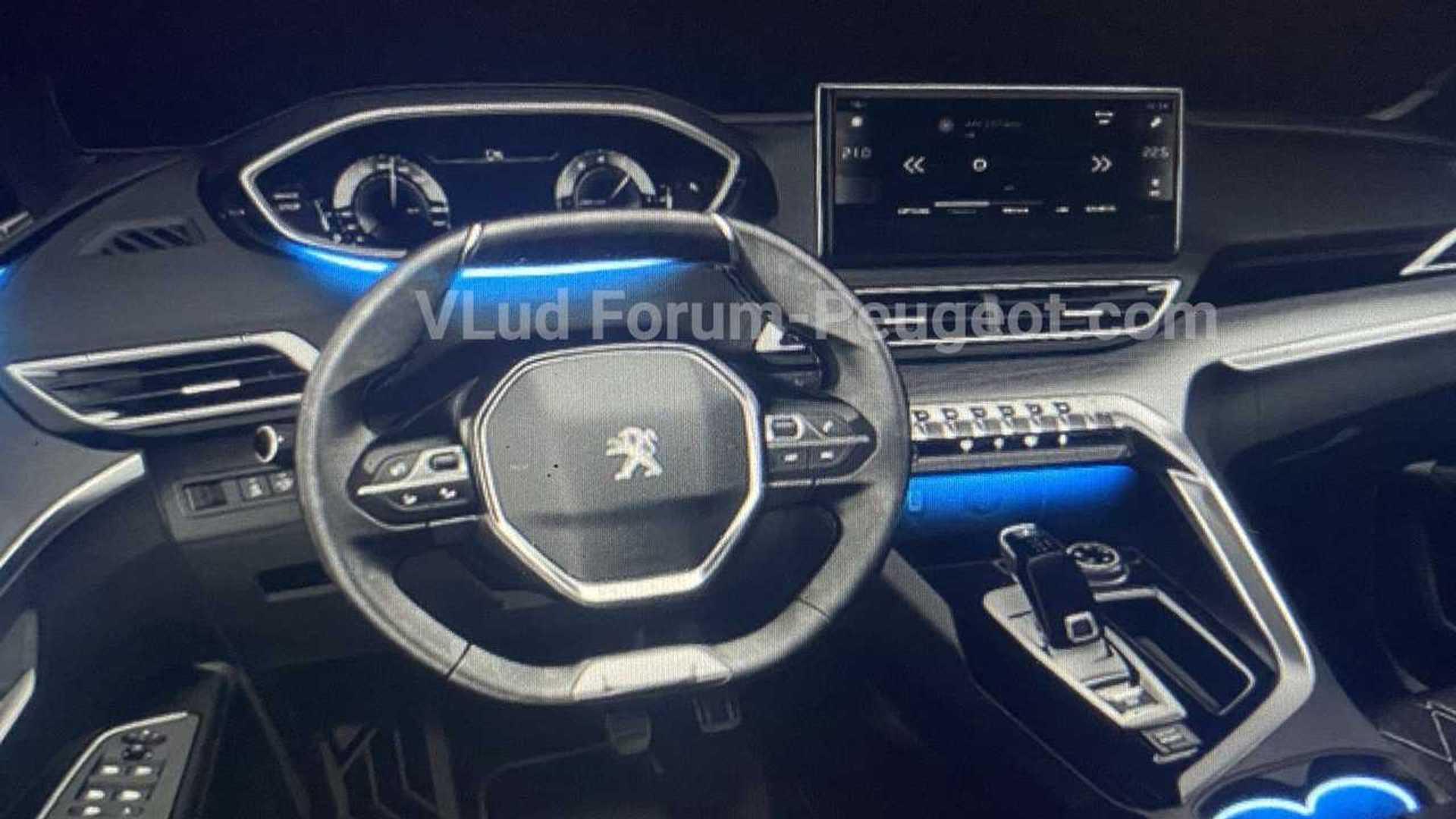 Peugeot 3008 reestilizado - Imagens vazadas